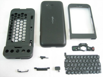 Replacement Cover Housing For For HTC Dream / G1 GOOGLE ANDRIOD Black