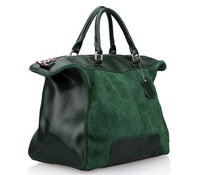2013 New 100% Real Genuine Leather handbags woman suede leather,high quality  tote bags ,drop Shipping LE39