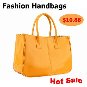 Hot sale!Lady PU leather bag Women Bags Handbag Ladies Totes 10 colors optional