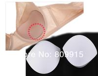 10pair/lot White Sewing in Bra Cups Soft Foam Size L J0824-3