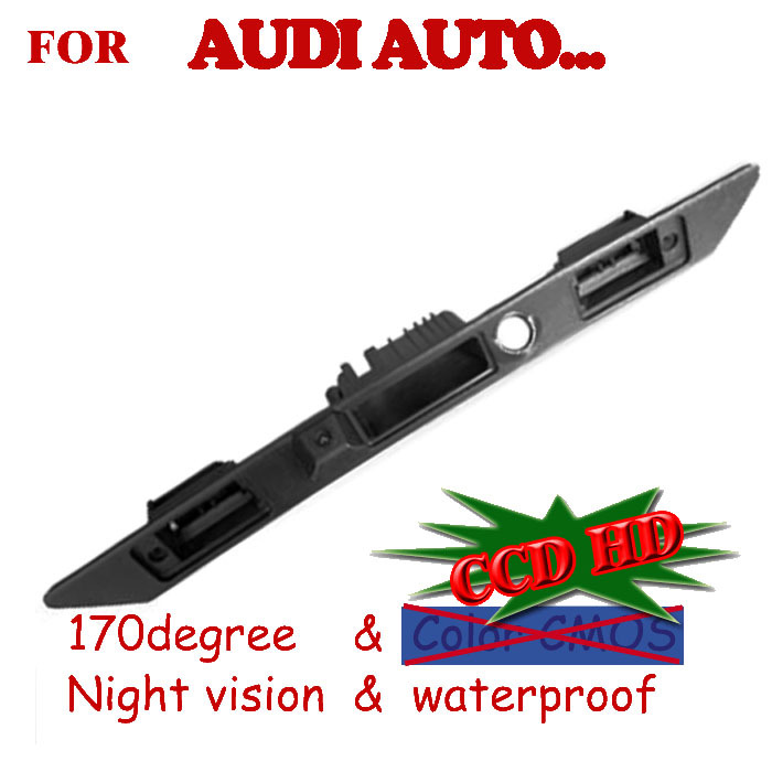 CCD car rear camera parking aid auto DAV ,GPS for A6L/Q7/A4/A3 handle position(China (Mainland))
