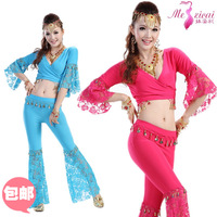 1 PC Belly dance set clothes set indian dance costume set lace set