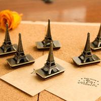 Zakka vintage eiffel tower chalybeate pattern stamp diy stamp