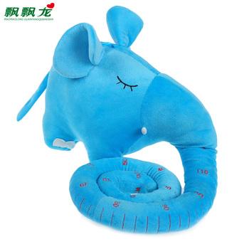 2013 Blue yellow height jumbo elephant plush toy princess doll Large child