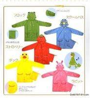 free ship baby soft  cute raincoat children poncho cartoon baby rain-proof