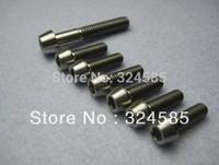 7pcs/lot Titanium Ti Bolt Screw Stem bolts Upgrade Kit M6x35mm M5x16mm Taper Head free shipping