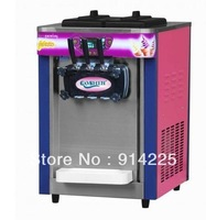 New 3 Head TableTop Soft Ice Cream Yogurt Machine 220v 50hz/60hz Sea SHipping/freeshipping