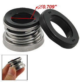2 pcs 18mm Single Spring Water Pump Mechanical Shaft Seal 104-18 Free shipping
