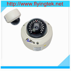 5.0 Megapixel HD IP dome camera,with PoE and nightvision,varifocal lens,Low lux sensor shipping free(Hong Kong)