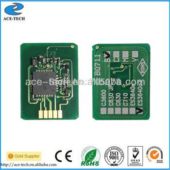 Reset toner chip for OKI MC860 color laser printer cartridge 44059212/44059211/44059210/44059209