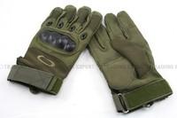 O Tactical Full Finger Hard Knuckle Gloves (OD Green) free ship