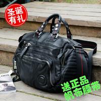 2012 personality shoulder bag messenger bag handbag cross-body tough