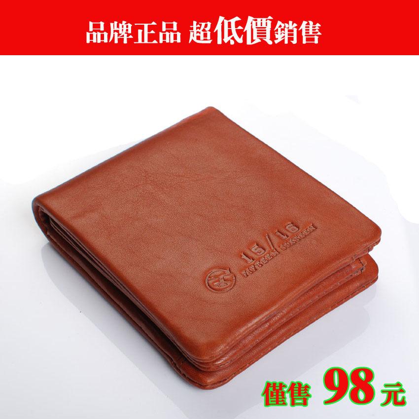 Recessionista 2012 cowhide wallet horizontal wallet casual wallet tough(China (Mainland))