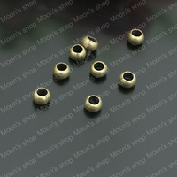(26719)Fashion Jewelry Findings,Accessories,charm,pendant,Alloy Antique Bronze hole:2.5mm Separated beads 100PCS