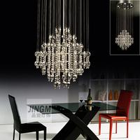 Lighting Crystal Light meal crystal League chandelier living room lights modern crystal lamp low voltage chandelier meal