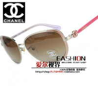 Metal flower decoration 4187 gradient color radiation-resistant lenses uv400 Women sunglasses