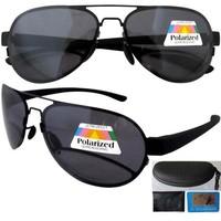Free shipping R11021 men's&women's gray aviator polarized bifocal sun glasses +1.25--+3.00