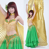 1 PC Belly dance clothes set plus size quality costume performance wear set 804