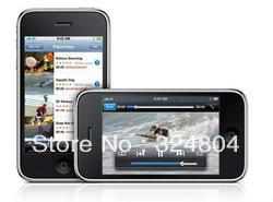 "Original Factory Unlocked smartphone 3GS 8GB Mobile Phone Wi-Fi GPS 3.0MP 3.5""TouchScreen 3G iOS(China (Mainland))"