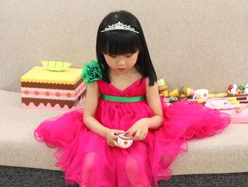 very nice girl's fashion dress,princess dress rose design,girl's dress, kids garment,Freeshipping