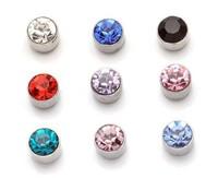 3mm magnet stud earring female no pierced magnet stud earring girls magnetic stud earring a pair of