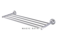 Village collection Solid brass towel rack Length 660MM -Chrome Bathroom accessories/Bath & Kitchen store Free shipping(China (Mainland))