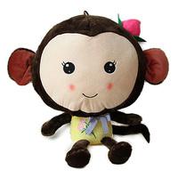All product full $30 free shipping cartoon peach monkey doll monkey plush toy cloth doll dolls birthday gift