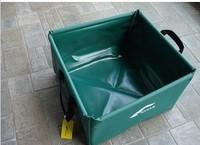 Rree shipping  folding basin PVC wash Basin Water Sink For Camping outdoor  15L