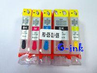 5 шт pgi-125 заправка картридж для canon pixma ip4810 ix6510 mg5210 mg5310 mg6310 ip4910 ix6550 mx885 принтер с фишек arc