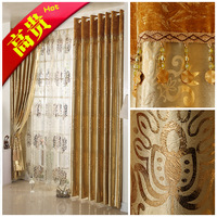 Quality fashion curtain bedroom curtain finished product luxury