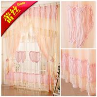 ELAND lace curtain princess real rustic screen window