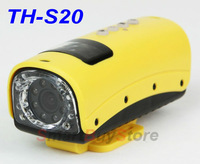 Mini Size HD7200P 20Meters Underwater Diving Sports Camera Recorder DVR, Waterproof+ night vision+HDMI+ Free shipping