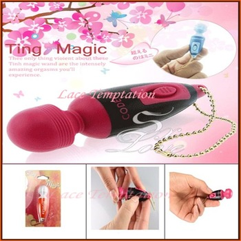 Free shipping adult sex toys for woman the world smallest av vibrator mini G-spot vibrating wand massager sex products