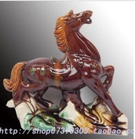 Wholesale ceramic horse home furnishing decoration free shipping