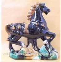 Wholesale 5 ceramic horse home furnishing decoration free shipping