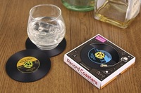 Record Coasters Record Placemats Bringing The Ambiance of Your Turntable to the Dinner Table Cup Mat