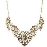 мин порядка $ 15 романтический позолоченный ожерелье воротник для женщин мода Колье бижутерия mc02