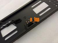 Fashion EU car license  plate camera with night vision  free shipping