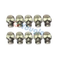 10 pcs/Lot Skeleton Skull Knife Flashlight Paracord Bracelet Accessories Pendant