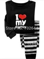 New baby boys/girls 100% cotton Pajamas, Baby long sleeve  sleepwear, (6set/lot)