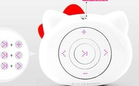HOT Mini 2GB Hello Kitty MP3 Player + Black + White + GIFT