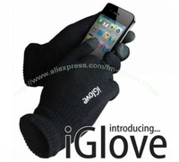 Winter gift!!IGlove Screen touch gloves with High grade box Unisex Winter for Iphone ipad touch glove,10pairs/lot.free shipping