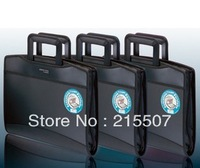 2013 Free shipping A4 Business Briefcase multifunctional mobile conference package briefcase file organist package free shipping
