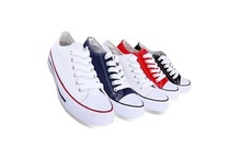 Unisex Low Style Classic Canvas Shoes Top quality drop shipping Low price(China (Mainland))