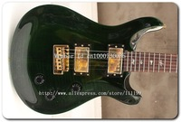 Free shipping!! New arrival  Hot Guitars  Reed Smith Custom green  Electric Guitar Top Guitar