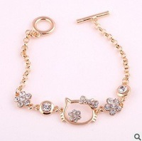 Wholesale 2013 New arrival Fashion Hello Kitty Hello Kitty Bracelet