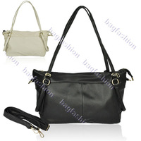 PU 2013 Leather Retro handbag vintage shoulder messenger bag Vogue bag Shoulder for women black khaki 7718