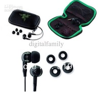 cheap High quality Razer Moray M100 hifi Stereo Gameing Earphones headphone headset handfree in beg