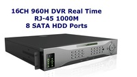 Professional 16CH 960H Real Time DVR With HDMI And Spot, Mac Systme Compatible Support 3G, 8 SATA HDD Model 8616HX3