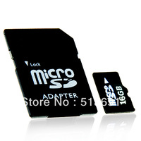 16GB Micro SDHC Memory Card TF Memory Card with SD Adapter
